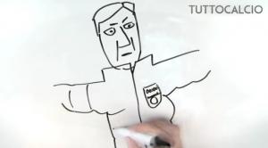 Guarda la versione ingrandita di YOUTUBE, Ibrahimovic: il racconto della sua vita a fumetti