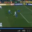 Empoli-Sampdoria, il gol di Fabio Quagliarella
