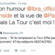 Tour Eiffel risponde a Ibrahimovic
