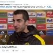 "Calciomercato Juventus, Mkhitaryan: ""Io alla Juve? Sarà..."""