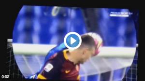 Guarda la versione ingrandita di Roma-Inter, video mano Miranda: rigore negato a giallorossi