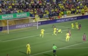 Guarda la versione ingrandita di YouTube, Villarreal-Barcellona 2-2: blaugrana si fanno rimontare