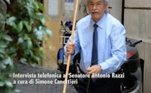 """Antonio Razzi candidato sindaco di Roma: """"Aspetto solo..."""""""