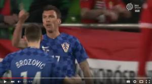 Mandzukic gol in Ungheria-Croazia 1-1 VIDEO