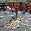 Sciopero netturbini, Johannesburg piena di rifiuti4