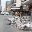 Sciopero netturbini, Johannesburg piena di rifiuti5