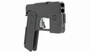 Smartphone che si trasforma in pistola