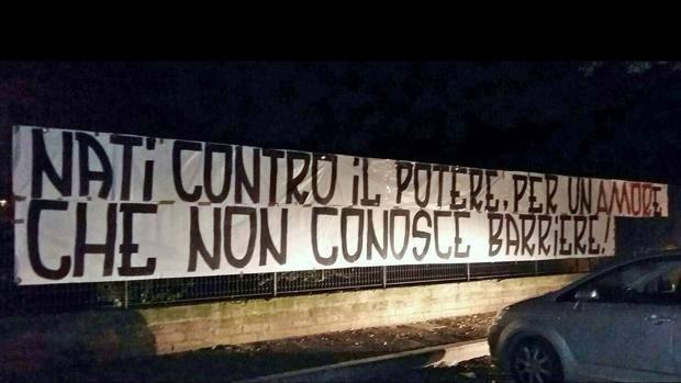 Roma-Lazio, striscioni ultras: No stadio, tutti a Testaccio 2