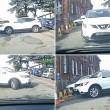Suv bianco compie 17 manovre per parcheggiare 3