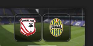 Verona-Carpi streaming-diretta tv, dove vedere Serie A