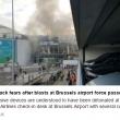 Bruxelles, sala check in distrutta dopo le bombe3