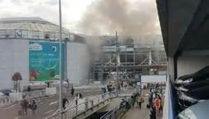 L' aeroporto di Bruxelles sotto attacco