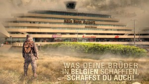 """""""Attentati Belgio? Fateli anche qui"""": propaganda su Colonia"""