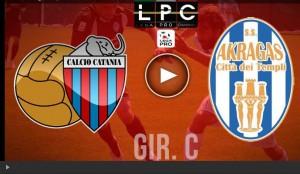 Akragas-Catania Sportube: streaming diretta live su Blitz