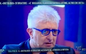 Guarda la versione ingrandita di Alberico Lemme a Domenica Live: polemiche sulla sua dieta