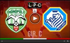 Guarda la versione ingrandita di Andria-Monopoli Sportube: streaming diretta live su Blitz