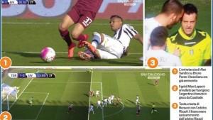 Guarda la versione ingrandita di Juve e Napoli testa a testa fino alla fine: ma gli arbitri..