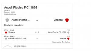 Ascoli-Vicenza streaming-diretta tv, dove vedere Serie B