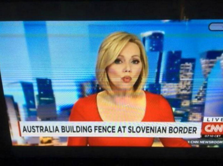 Cnn, sfondone in diretta: Austria scambiata per Australia