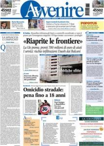 Guarda la versione ingrandita di Libia, elezioni Usa, banche: le prime pagine dei giornali