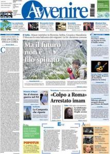 Guarda la versione ingrandita di Primarie Pd, Failla: le prime pagine dei giornali