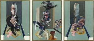 Guarda la versione ingrandita di Francis Bacon, rubate 5 tele: valgono 30 milioni  (nella foto, il Trittico di Bacon)