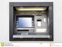 Guarda la versione ingrandita di Un bancomat