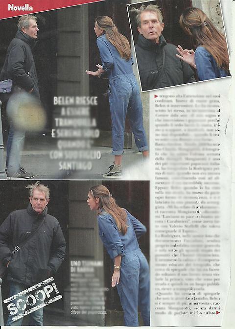 Belen Rodriguez contro paparazzo: Lasciami in pace o... FOTO
