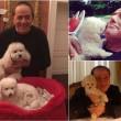 """Berlusconi: """"Le mie giornate con Dudu e Dudina"""""""