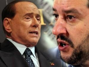 """Berlusconi: """"I leghisti a Roma sono tutti ex fascisti"""""""