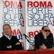 """Berlusconi con gli occhiali da sole: """"Sono come Batman"""" FOTO5"""