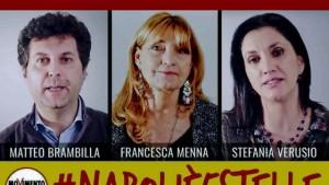 M5s: Brambilla candidato a Napoli, Martinez a Cagliari