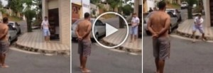 YOUTUBE Poliziotto spara a vicino di casa che lo minacciava
