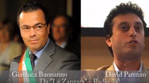 """Parenzo a Buonanno: """"Sei politicamente putrido"""""""