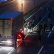 YOUTUBE Calais: caos Giungla, scontri e riprende sgombero5