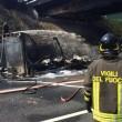Autostrada A1 chiusa: tir fiamme tra Caianello e Capua FOTO