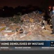 Casa demolita per...errore di Google Maps VIDEO 3