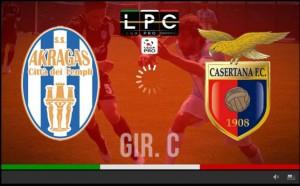 Casertana-Akragas Sportube: streaming diretta live