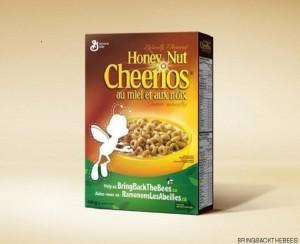 Guarda la versione ingrandita di Cheerios, sulla scatola non c'è più l'ape Buzz perché…