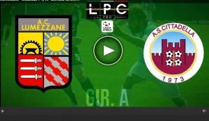 Cittadella-Lumezzane Sportube: streaming diretta live