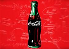 Una bottiglia di Coca Cola