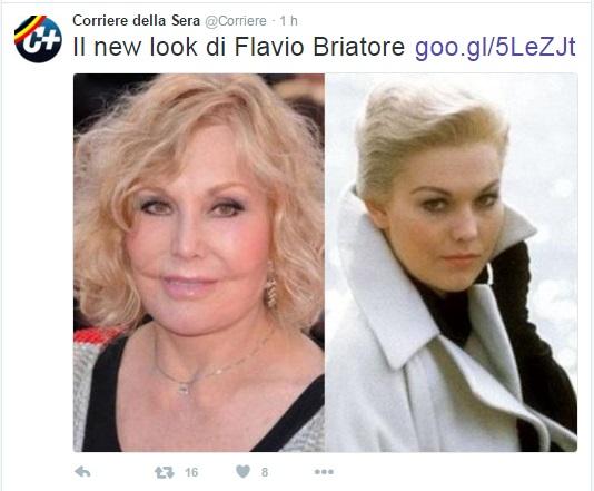 Corriere, epic fail su Flavio Briatore