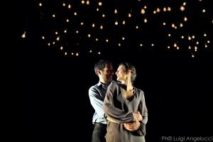 """Una scena di """"Costellazioni"""" in scena al  Teatro Brancaccino"""