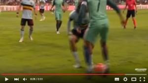 YOUTUBE Cristiano Ronaldo, super giocata Portogallo-Belgio