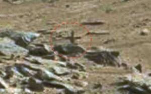 YOUTUBE Croce su Marte: misteriosa foto dal Pianeta Rosso