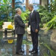 Barack Obama e Raul Castro al Palazzo della Rivoluzione a L'Avana EPA/ALEJANDRO ERNESTO