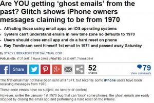 """E-mail """"fantasma"""": misteriosi messaggi dal 1970"""