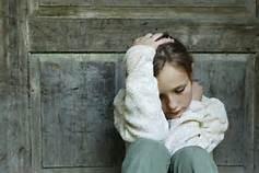 Una adolescente depressa