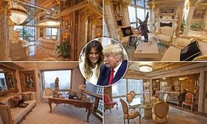 Casa Trump: affreschi, diamanti e statue d'oro