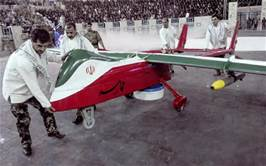 Guarda la versione ingrandita di Un drone iraniano
